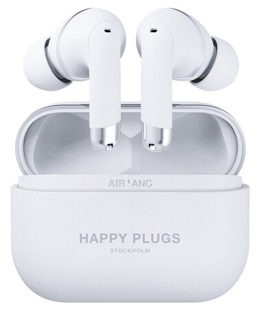 Happy Plugs Draadloze Oortjes AIR 1 ANC - Wit