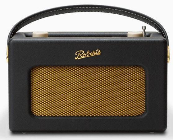 Roberts radio REVIVAL ISTREAM3E - Zwart