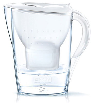 Brita Waterfilterkan - Fill & Enjoy - Marella Cool White incl. 4MAXTRA+