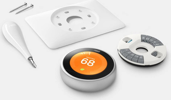 Nest Learning Thermostat 3th Gen - Roestvrij staal
