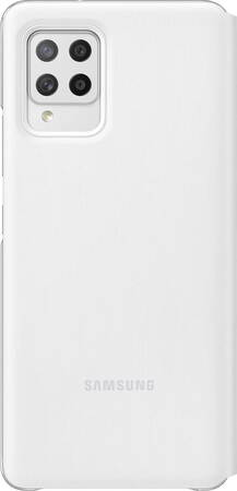 Samsung Smart S View cover voor Galaxy A42 - Wit
