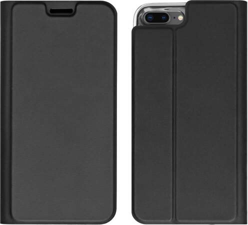 Essentiel-B Bookcover voor iPhone 7/8 Plus - Zwart