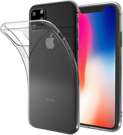 Essentiel-B Backcover Souple voor iPhone 11 Pro - Transparant
