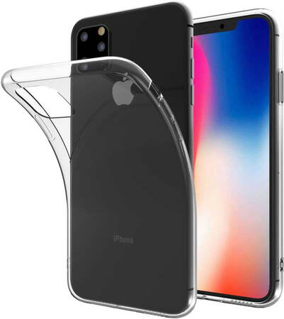 Essentiel-B Backcover Souple voor iPhone 11 Pro Max - Transparant