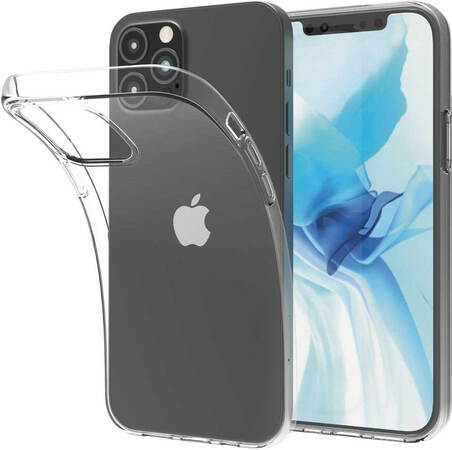 Essentiel-B Backcover Souple voor iPhone 12 Pro Max - Transparant