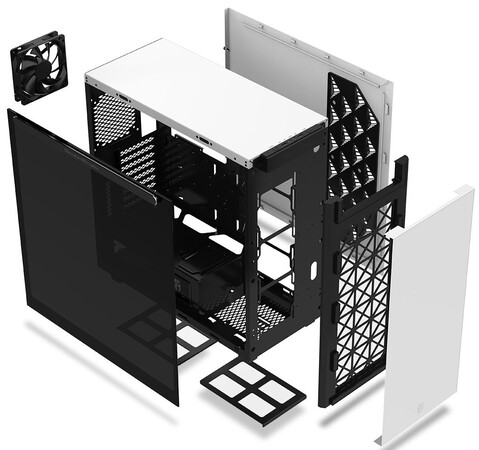 Gamerstorm MACUBE 550 - TEMPERED GLASS ATX - Wit