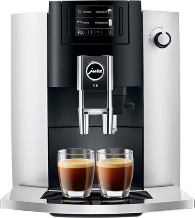 Jura Machine à expresso automatique E6 Platinum