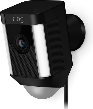 Ring Spotlight Cam - Filaire - Noir