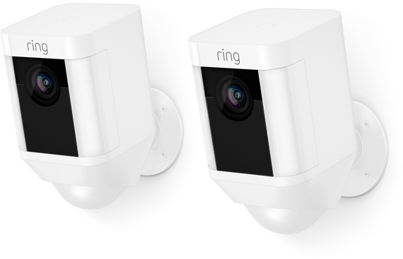 Ring Spotlight Cam Battery - Wit - duo pack