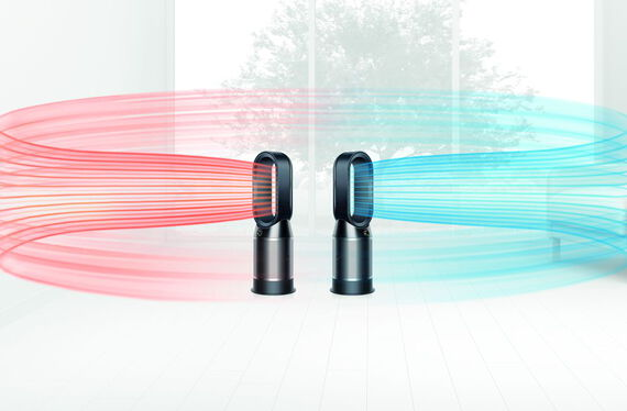 Dyson Luchtreiniger HP04 Pure Hot + Cool Black