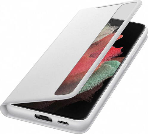 Samsung Smart Clear View Cover pour Galaxy S21 Ultra 5G - Gris