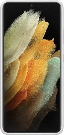Samsung Silicone Cover voor Galaxy S21 Ultra 5G - Grijs