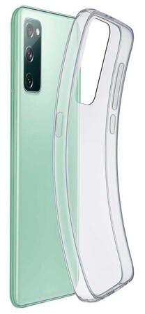Cellular Line Backcover voor Galaxy S20 FE - Transparant
