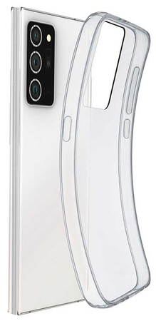 Cellular Line Backcover voor Galaxy Note 20 - Transparant