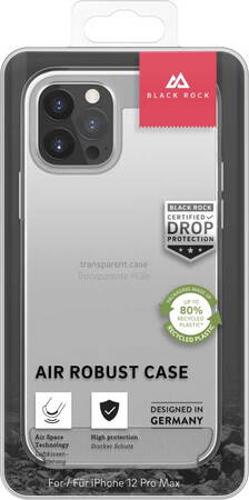 Black Rock Backcover Air Robust voor iPhone 12 Pro Max