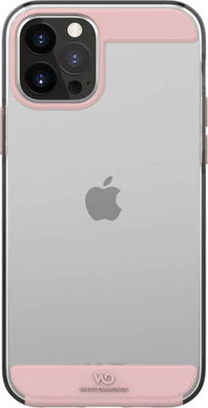 White Diamonds Backcover Innocence Clear voor iPhone 12 Pro max - Rosé goud