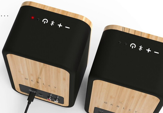 House Of Marley Enceinte Bluetooth Get Together Duo - Bois
