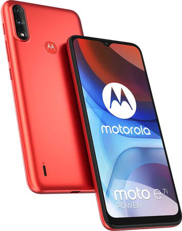 Motorola moto e7i power Coral Red