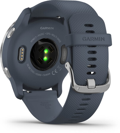 Garmin Venu 2 - Silver/Granite Blue