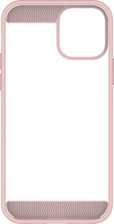White Diamonds Backcover Innocence Clear voor iPhone 12 (Pro) - Rosé goud