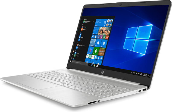 HP Notebook 15S-FQ2041NB Natural Silver